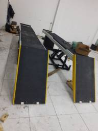Materiais e equipamentos para oficina