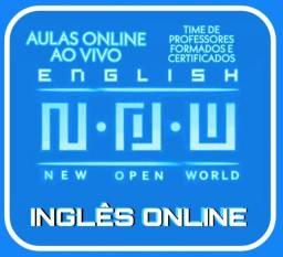 N'O'W Inglês VIP - Vídeo-chamadas - Ao Vivo - Você bilíngue em casa