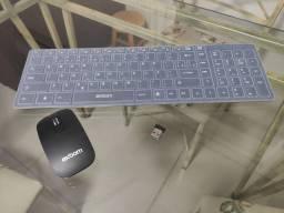 Teclado e mouse bluetooth
