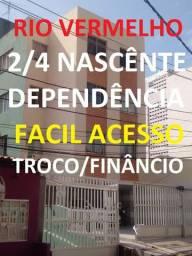 2/4 dependência,suíte,Rio Vermelho,Passo 50mil ,Amaralina, ondina Cond.160 reais