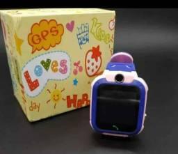 Relógio kids infantil faz ligação