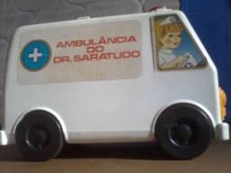 Brinquedo Estrela anos 80 - Ambulância Do Dr. Saratudo