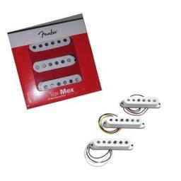 Usado, Set de Captadores Guitarra Fender Tex Mex (Branco) . comprar usado  Caruaru