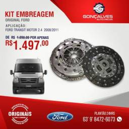 KIT EMBREAGEM ORIGINAL FORD TRANSIT MOTOR 2.4