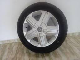 Rodas de carro aro 14 com pneus