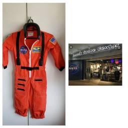 Fantasia usada 1 vez comprada na loja da NASA