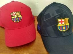 Bonés Barcelona originais (praticamente novos)