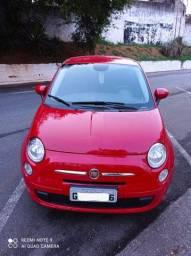 Fiat 500 Cult Dual 1.4. automatizado - 2015/2015 - Baixíssima Km (só 13.400 Km rodados)