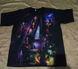 Camisa dos vingadores tamanho G