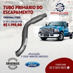 TUBO DO ESCAPAMENTO PRIMÁRIO ORIGINAL FORD F-350/F-4000 MOTOR MECÂNICO