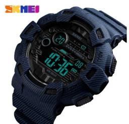 Relógio Skmei Digital Denim