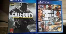 Vendo ou troco jogos de PS4