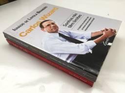 Coleção Autobriografias Inglês - Carlos Wizard + Mr. Fisk