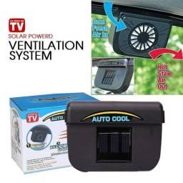 Ventilador Solar Automotivo / Veicular