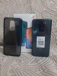 Lançamento Redmi Note 9 128G 4G de RAM Ônix Black