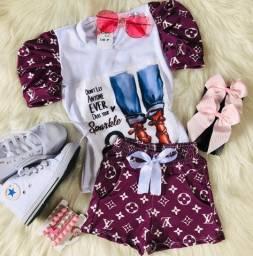Roupa infantil Moda blogueira