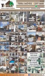 Alugo casas aptos e comércios caução