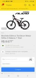 Bicicleta elétrica TechFalcon evo 500w aro 29 27v Shimano alivio
