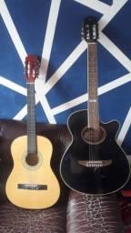 2 violões por 300 reais