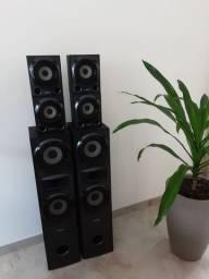 Conjunto caixas Sony