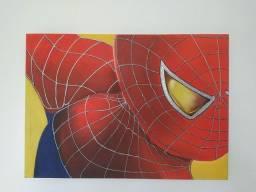 Tela Pintura Homem-Aranha Super-herói Spiderman