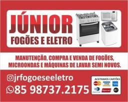 Manutenção e peças para seu fogão, comum e industrial;