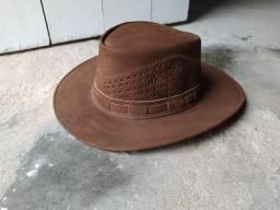 Chapéu de couro!