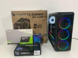 Pc Gamer *NOVO* - i3 9100+GTX 1650 - Parcelo 12x/Garantia