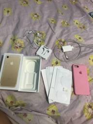iPhone 7 impecável troca