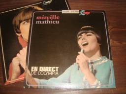 Mireille Mathieu, 2 Lps importados x 100