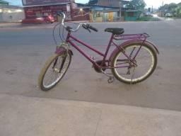 Bicicleta funcionando normal.
