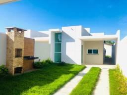 WS linda casa no Aquiraz:2 quartos 2 banheiros com fino acabamento prox. a prainha