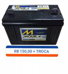 Bateria 105 amperes moura estacionaria R $ 150,00
