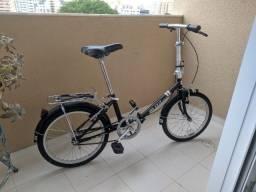 Bicicletas Dobrável Blitz City - Preta