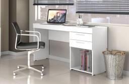 Mesa Office Branca # Entrega E Montagem Grátis