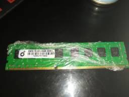Memória RAM 4GB DDR3 frequência 1333 Mhz