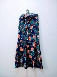 Vendendo 3 vestido 3 saia envagelica por 400 reais obs tudo novo etiquetA
