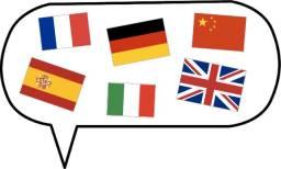 Curso completo contendo vários idiomas do mundo à sua escolha