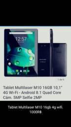 Tablet M10 novo na caixa