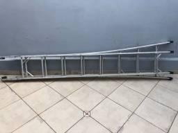 Escada de Alumínio Extensiva 8 x 2