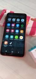 Lançamento!Samsung A10 Vermelho 32Gb Memória!Todo Original