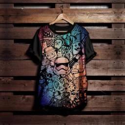 Camisetas personalizadas (escolha sua estampa)