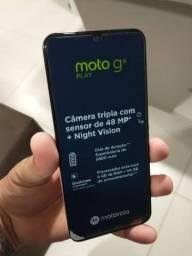 Moto g9 play muito novo 1 semana de uso.