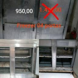 Freezer 4 portas usado