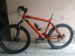 Bicicleta bike Gallo aro 26 (caloi, viking x, shimano, disco) troca em speed