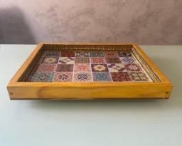 Bandeja suspensa azulejos 30x40