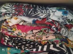 Lote de roupas de menina tamanho 6 a 11 troco por berço americano