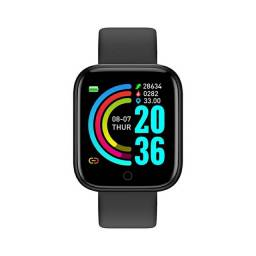 Smartwatch D20 Y68 - Bluetooth + Monitor Cardíaco