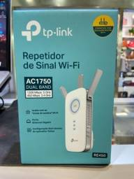 Repetidor de Sinal Wireless Re450 Ac1750 Dual Band Extensão