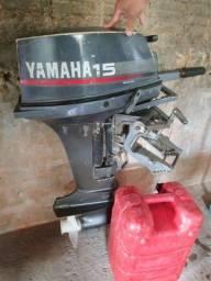 Motor de popa Yamaha 15hp